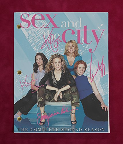 Sex In The City TV Script w/Reproduction Signatures Parker, Cattrall, Nixon C3