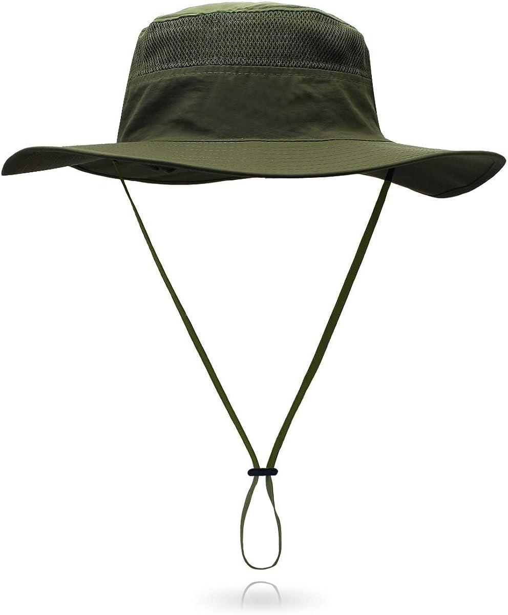 Outdoor Sun Hat Bucket Hats for Women Sun Protection Mesh Cap Quick-Dry UPF 50+