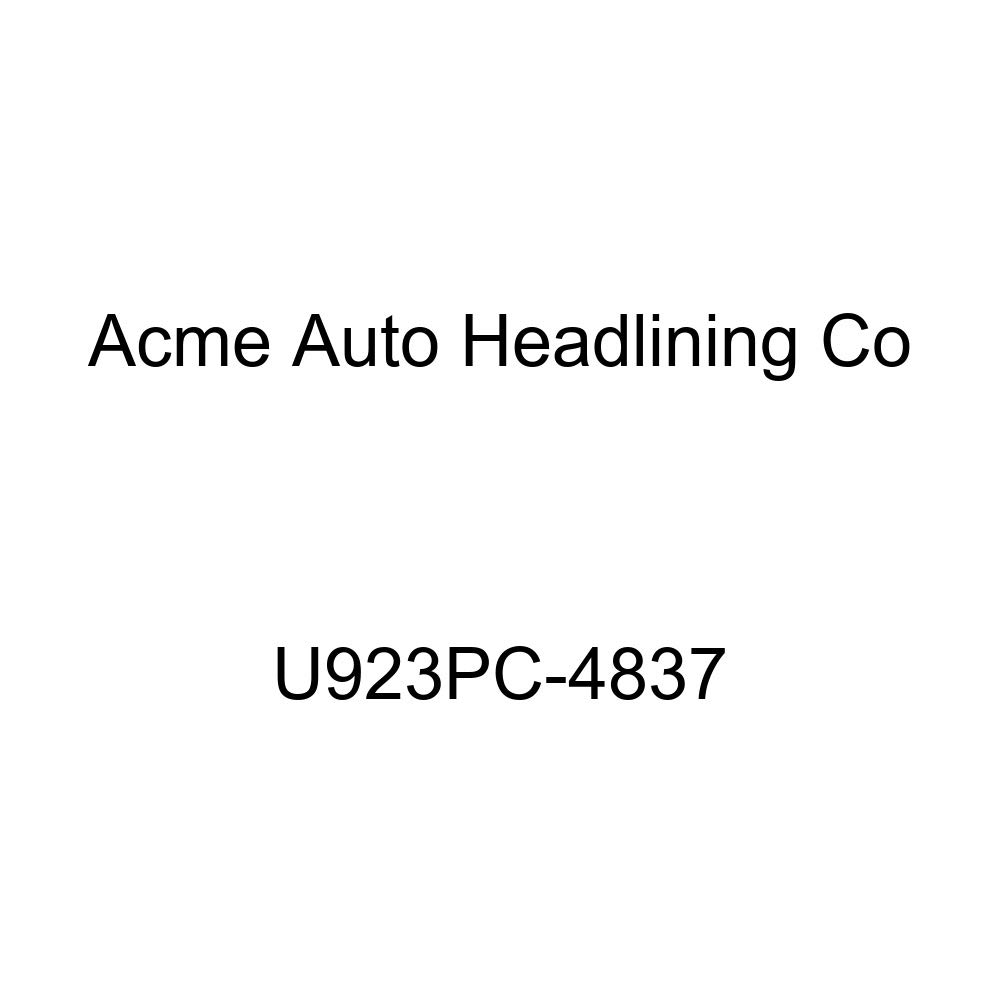 Acme U923PC-4837 Front and Rear Medium Blue Vinyl Bench Seat Upholstery