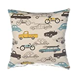 Sweet Potato Traffic Jam Pillow, Cars