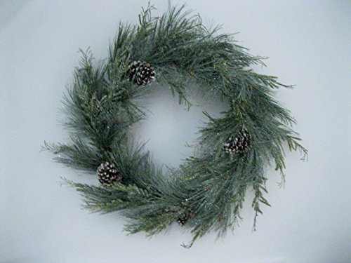 Christmas 11'' Candle Ring/Mini-Wreath''Aurora Pine'' by Unknown