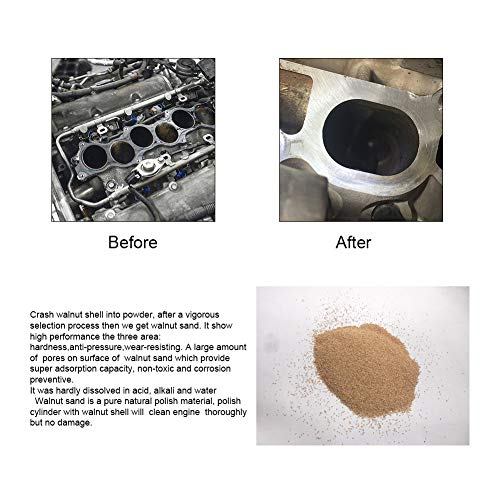 AUTOOL Automotive Engine Intake Pipe Valve Clean Machine Valvetronic System Walnut Powder Sand Carbon Deposition Cleaner by AUTOOL (Image #5)