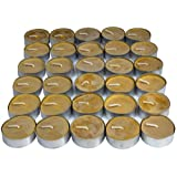 UCO Long Burning Tealight Candles for Emergency Preparedness, 30-Pack