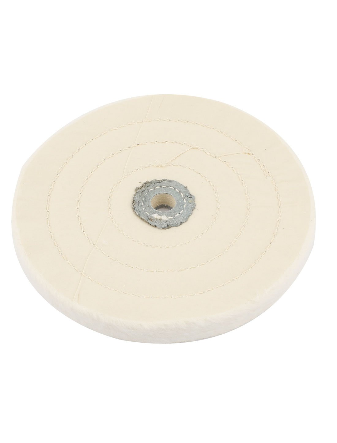 Aexit White 1//2 Grinder Accessories x 6 50 Ply Round Shape Polish Buffing Wheel Cutoff Wheels Cotton Pad