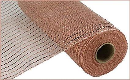 Amazon.com: Malla de polietileno de 10.0 in: nuevo oro rosa ...