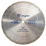 "Kingthai 14 inch Segmented Diamond Blade for Concrete Masonry with 1"" Arbor"