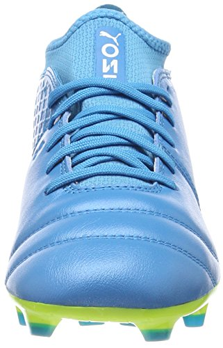 Blu 17 2 Calcio One Yellow Fg White atomic Blue Da safety Uomo Scarpe Puma Z8pHH