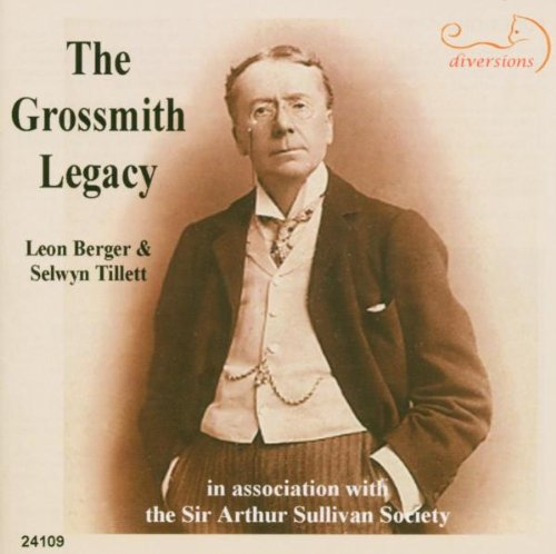 The Grossmith Legacy: The Gay Photographer; I Am So Volatile; The Muddle-Puddle Porter; My Name Is John Wellington Wells; A Juvenile Party; Mistress and Maid; The Speaker's Eye; The Parrot & the Cat; The Bay of Battersea; I Once Was Meek as a New Born Lamb, and 11 other songs