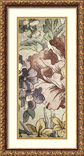 Earthtone Floral Panel - Framed Art Print 'Earthtone Floral Panel II' by Catherine Kohnke