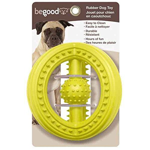 Dog Toys Galactics Shape Durable Hard Rubber 5 1/2
