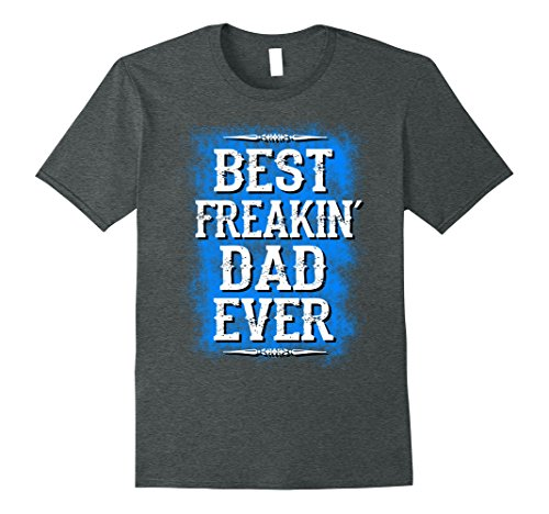 Mens Best dad ever t shirt fathers day gift for husband f...