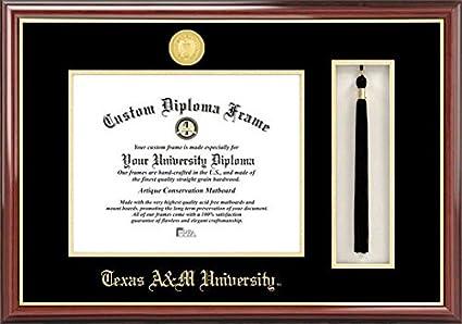 Amazon.com: Texas A&M University Tassel Box and Diploma Frame: Home ...