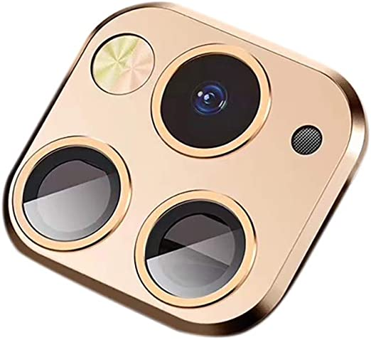 Elevin Tm Lens Sticker For Iphone X Xs Max Camera Change To Fake Compatible With Iphone 11 Pro Max Gold