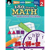 180 Days of Math for Second Grade – 2nd Grade Math Workbook for Ages 6 to 8, Includes Digital Resources