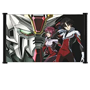 "Gundam Seed Destiny Anime Fabric Wall Scroll Poster (26""x16"")"