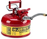 Justrite Type II AccuFlow Safety Can, Two-Gallon