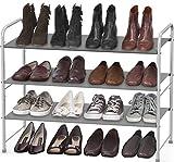 Simple Houseware 3-Tier Shoe Rack Storage