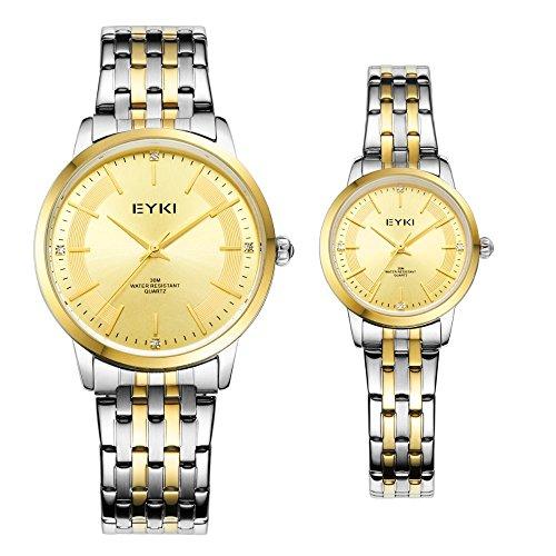 TIDOO Brand Watches Men Quartz Business Fashion Casual Watch Full Steel Women Lover Couple 30M Waterproof Wristwatches