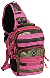 Womens 12 Inch Pink Hunters Camo Tactical Molle