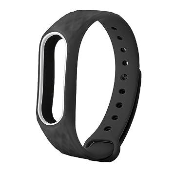 Btruely Herren-- Correas Relojes para XiaoMI MI Band 2 Silicon Recambio Brazalete Pulsera reemplazo para XIAOMI Mi Band 2 (C): Amazon.es: Deportes y aire ...