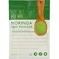 Kiva Organic Moringa Leaf Powder - Non-GMO and RAW - (1 Pound)