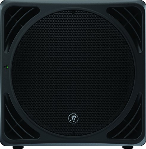 Mackie SRM1550 1200W 15″ Portable Powered Subwoofer by Mackie
