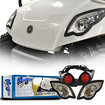 Madjax LED Light Kit with Daytime Running Lights Yamaha Drive 2007-2016: Sports & Outdoors