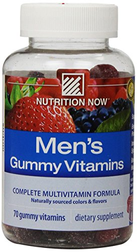 Nutrition Now Men's Gummy Vitamins, 70 Count ()