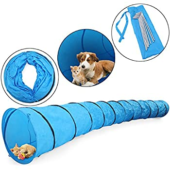 Amazon.com : Agility Tunnel - Dog play & exercise toy