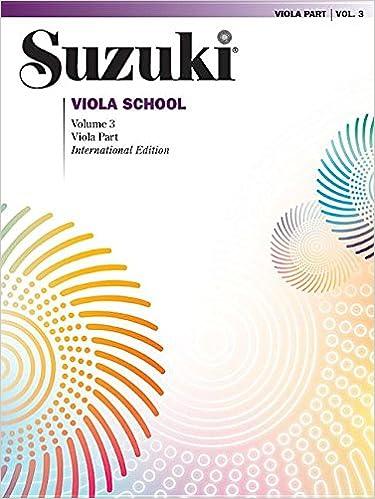 suzuki viola school viola vol 3 viola part suzuki viola school series