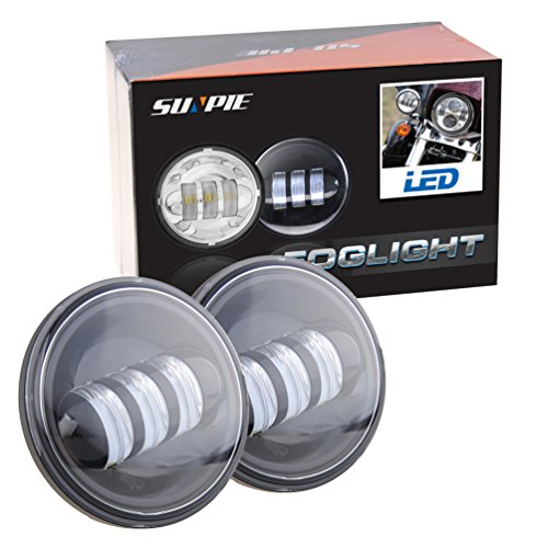 4 1 2 Quot 4 5 Inch Daymaker Led Passing Light For Harley
