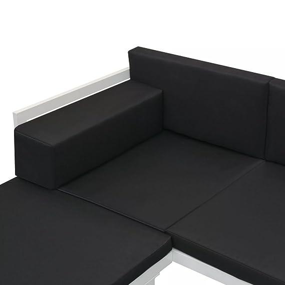 Tuduo Jardín de sofá Cama DE 13 Piezas de Conjunto textileno ...