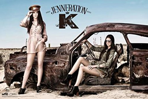 Jenneration K Kendall And Kylie Jenner Kardashian Poster Print Picture