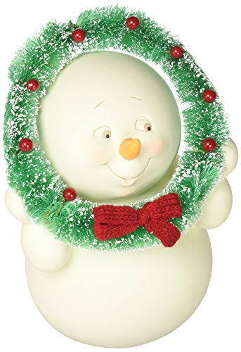 "Department 56 Snowpinions ""Let's Be Jolly"" Porcelain Christmas Figurine, 9"" Department 56 Snowman"