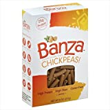 Banza Chickpea Penne Pasta: High Protein & Lower Carb (6-pack) (Penne)