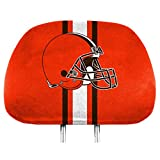 cleveland browns air freshener - Team ProMark NFL Cleveland Browns Full-Print Head Rest Covers, 2-Pack