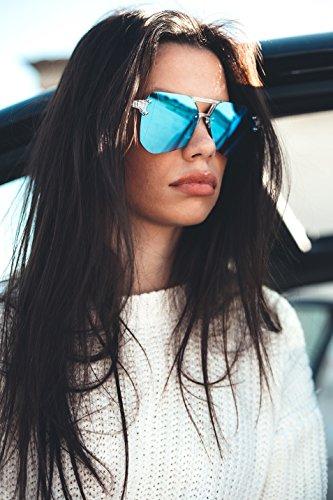 DOYLE de Tortuga espejo degradadas TWIG Gafas Rosa sol hombre mujer tPxdUpp