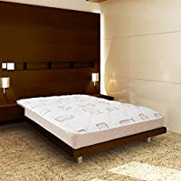 Wolf Corp Double Sided Reversible Ortho Back Aid Innerspring Mattress, Queen, Bed in a Box, Made in the USA
