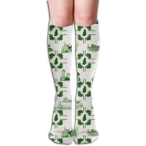 - Beaver Island Tiles Socks Colorful Long Sosks For Men & Women One Size