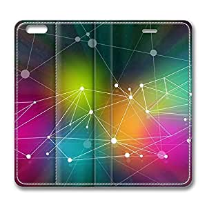 Abstract Design DIY Leather iphone 6 Case Perfect By Custom Service hjbrhga1544