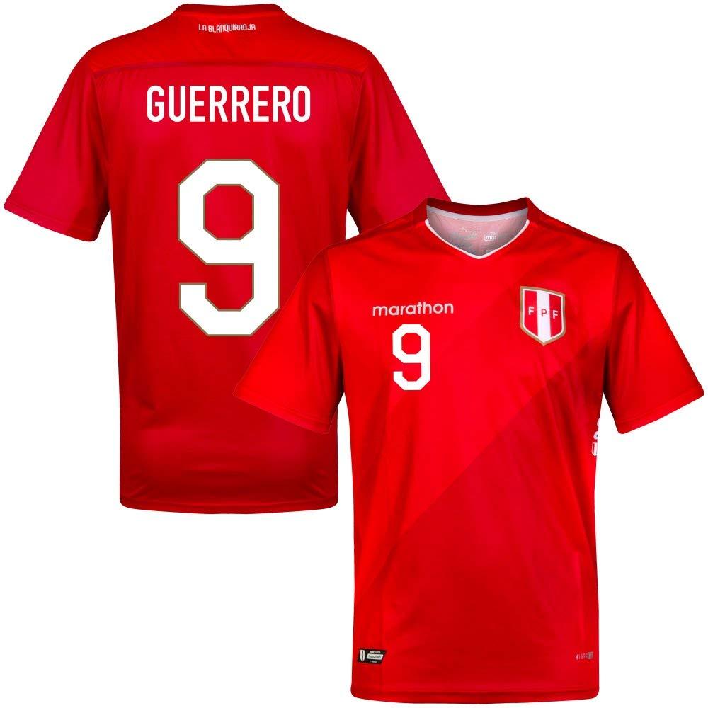 2019 Peru Away Trikot + Guerrero 9 (Fan Style)