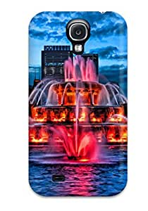 Durable Fontain Back Case/cover For Galaxy S4