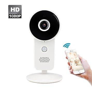 Amazon.com: Cámara IP inalámbrica 1080P WiFi para el hogar ...