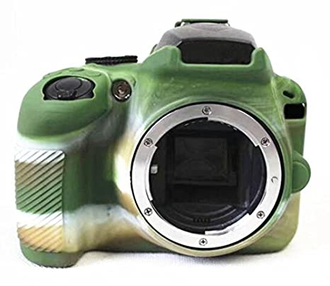 Hihouse - Carcasa de silicona impermeable para cámara Nikon ...