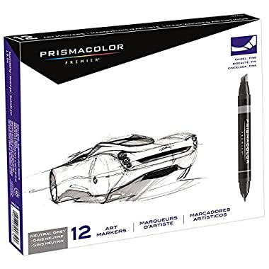 Prismacolor Marker Sets neutral grey set set of 12