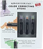 Kristofer Buckle Set 3 Color Correcting, Conceals Sticks, Make up Concealer .092 oz Each
