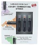 Kristofer Buckle Set 3 Color Correcting, Conceals Sticks, Make up Concealer .092 oz Each