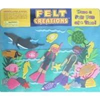 Felt Creations Aquatic Diving Felt Story Board