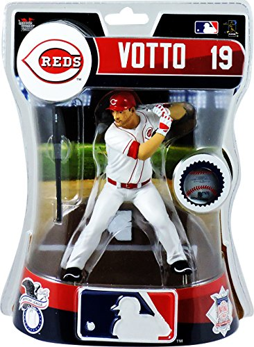 Joey Votto Cincinnati Reds Imports Dragon Action Figure Artifacts Baseball