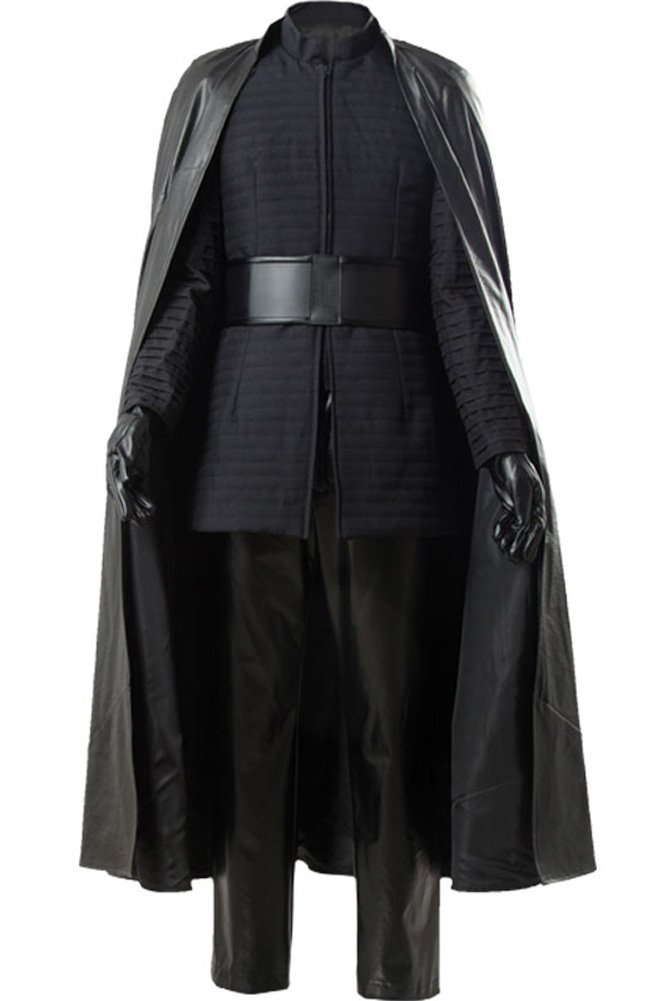 CosplaySky Star Wars 8 The Last Jedi Kylo Ren Costume Halloween Outfit Large